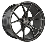 "19"" Stance SF07 Brushed Dual Gunmetal Concave Wheels - Set of 4 - Motorsports LA"