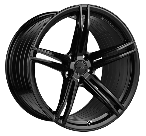 "19"" Stance SF08 Gloss Black Concave Wheels - Set of 4 - - Motorsports LA"