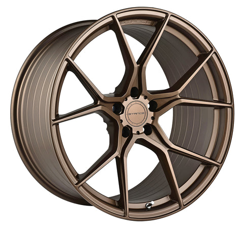 "19"" Stance SF07 Satin Bronze Concave Wheels - Set of 4 - - Motorsports LA"
