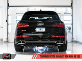 AWE Touring Edition Exhaust for Audi B9 SQ5 - Non-Resonated - No Tips (Turn Downs) - Motorsports LA