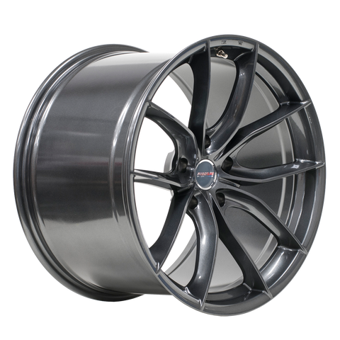 Forgeline F01 Anthracite - Corvette 19x10 20x12 Set of 4 - Motorsports LA