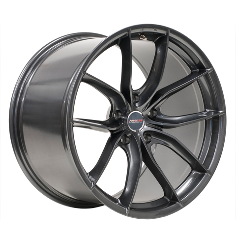 Forgeline F01 Anthracite - 20x9 20x12 Set of 4 - Motorsports LA