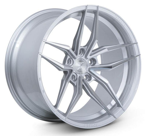"20"" Ferrada FR5 - Staggered - Machined Silver - Motorsports LA"