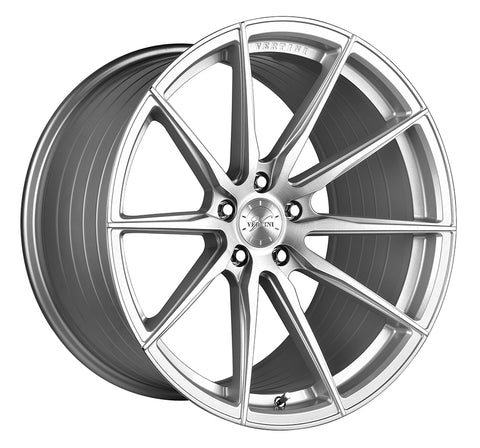 "19"" Vertini RFS1.1 Brush Silver Wheels - Set of 4 - Motorsports LA"