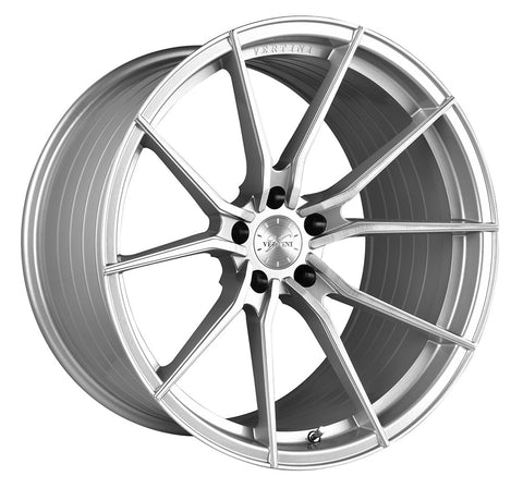 "19"" Vertini RFS1.2 Brush Silver Wheels - Set of 4 - Motorsports LA"