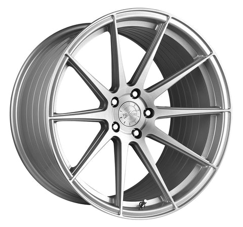 "19"" Vertini RFS1.3 Brush Silver Wheels - Set of 4 - Motorsports LA"