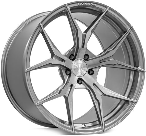 "19"" Rohana RFX5 Wheels- Set of 4 - Concave Rotary Forged - Motorsports LA"