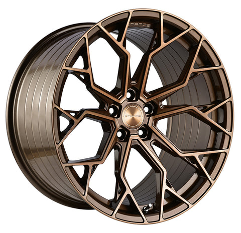 "19"" Stance SF10 Wheels Brushed Dual Bronze - Set of 4 - Motorsports LA"