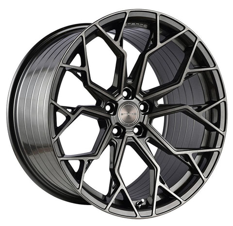 "20"" Stance SF10 Wheels Brushed Dual Gunmetal - Set of 4 - Motorsports LA"