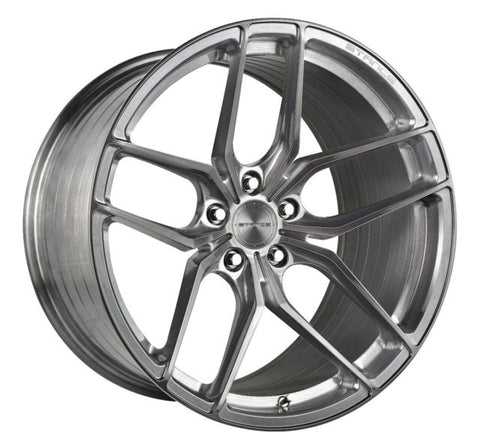 "19"" Stance SF03 Brushed Titanium  Concave Wheels - Set of 4 - Motorsports LA"