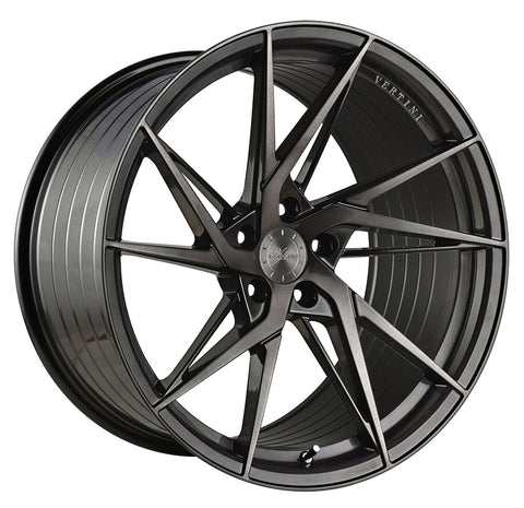 "20"" Vertini RFS1.9 Brushed Dual Gunmetal Concave Wheels - Set of 4 - Motorsports LA"