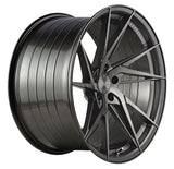 "19"" Vertini RFS1.9 Brushed Dual Gunmetal Concave Wheels - Set of 4 - Motorsports LA"