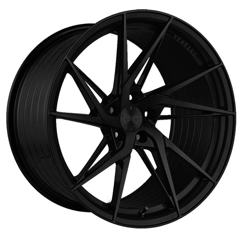"19"" Vertini RFS1.9 Satin Black Concave Wheels - Set of 4 - Motorsports LA"