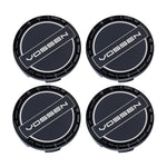 Classic Billet Sport Cap Set For CV/VF/HF Series Wheels (Gloss Black) - Motorsports LA