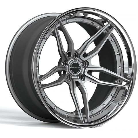 Brixton Forged PF2 Targa Series 3-Piece Wheels - Starting at $2,344 Each - Motorsports LA