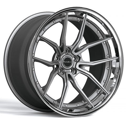 Brixton Forged PF3 Targa Series 3-Piece Wheels - Starting at $2,344 Each - Motorsports LA