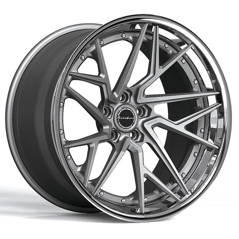 Brixton Forged PF8 Targa Series 3-Piece Wheels - Starting at $2,344 Each - Motorsports LA