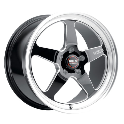 WELD Ventura 5 Rotary Forged Wheels - 18x12 None Beadlock Sold Individually Corvette - Motorsports LA