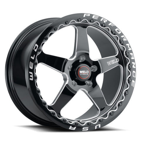 WELD Ventura 5 Rotary Forged Wheels - 18x12 Beadlock Sold Individually Corvette - Motorsports LA