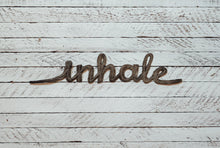 Load image into Gallery viewer, Metal Wall Art - Inhale