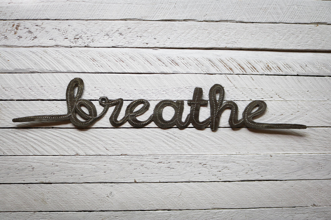 Breathe Metal Art
