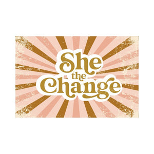 She The Change Women's T- Shirt