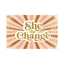 Load image into Gallery viewer, Kids She The Change T-Shirt