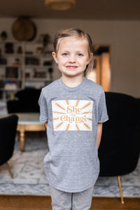 Kids She The Change T-Shirt
