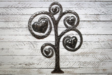 Load image into Gallery viewer, Love Tree Metal Art
