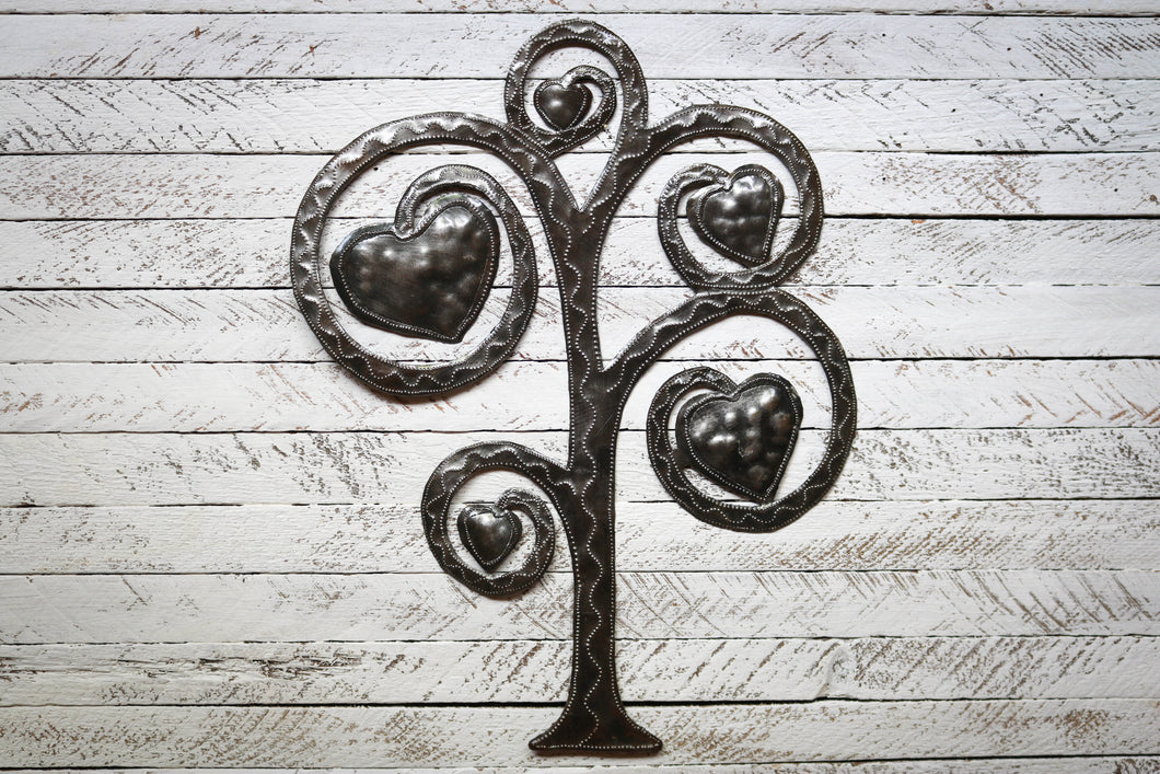Love Tree Metal Art