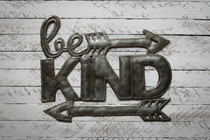 Be Kind Metal Art