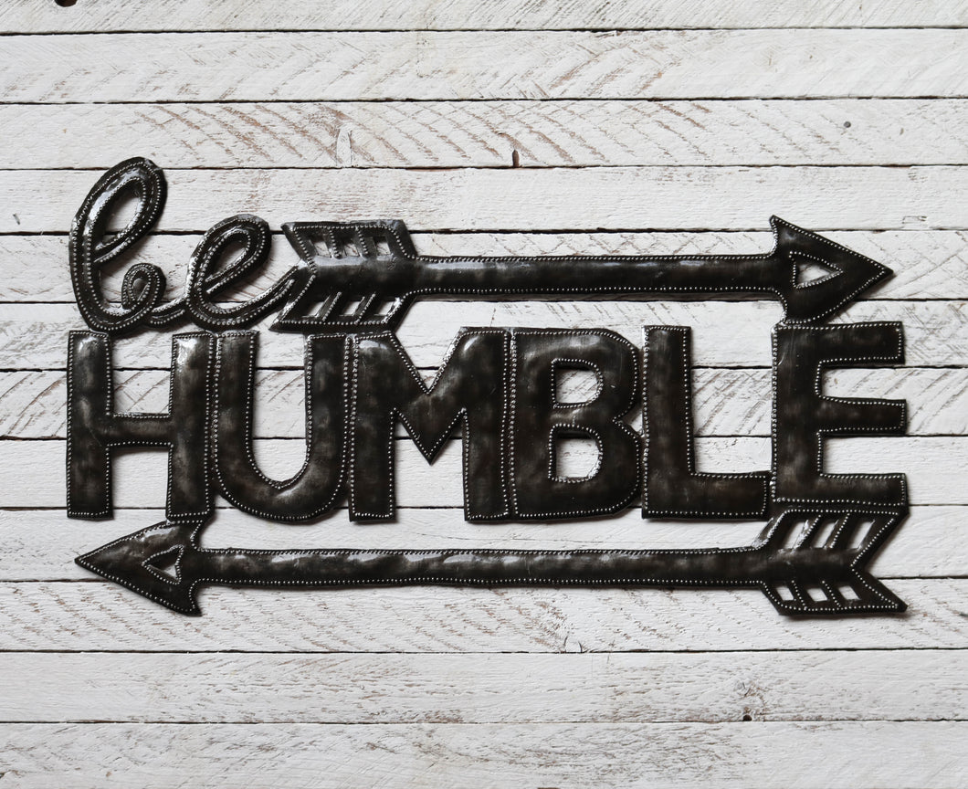 Be Humble - Metal Art
