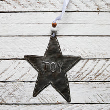 Load image into Gallery viewer, Joy Star Ornament