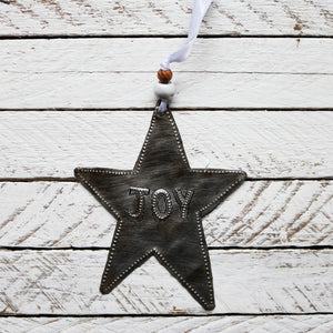 Joy Star Ornament