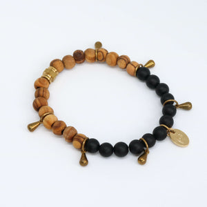Gemstone Black Onyx Bracelet