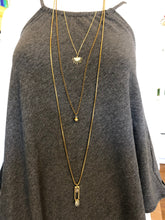 Load image into Gallery viewer, Awaken Layered Brass Necklace