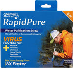 ADVENTURE MEDICAL RAPIDPURE® PIONEER STRAW - WATER PURIFICATION