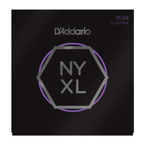 D'Addario NYXL1149 Nickel Wound Electric Guitar Strings, Medium, 11-49