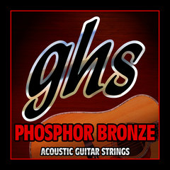 Ghs PHOSPHOR BRONZE - Standard Medium 13-56