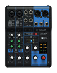 Yamaha MG06X - 6 Channel MG Series Mixer w/Effects