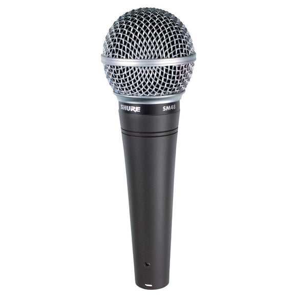 Shure SM48-LC Vocal Dynamic Microphone