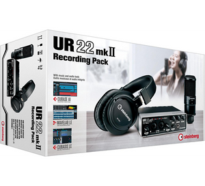 Steinberg UR22MkIIR Recording Pack