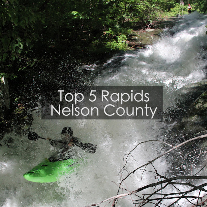 Top 5 Rapids of Nelson County