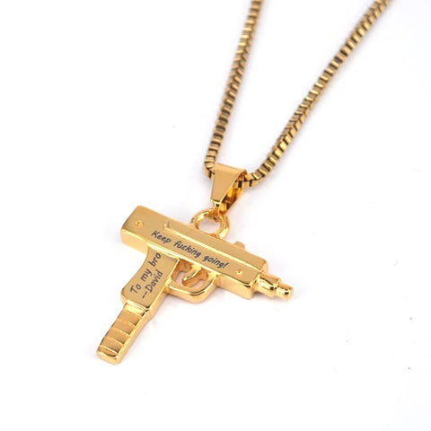 Custom Name Shooter Necklace