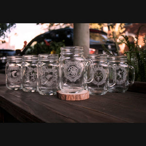 Game of Thrones Mason Jar set