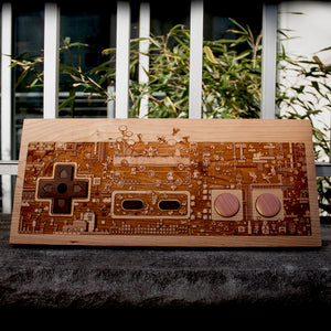 ConBatch Half Size NES plaque