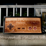 Full size NES Plaque