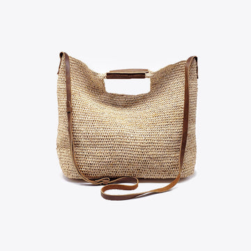 CELIA Cross-body Raffia Bag