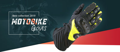 Motorbike Motorcycle Leather Gloves
