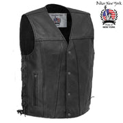 Speeder - Men's Motorcycle Leather Vest